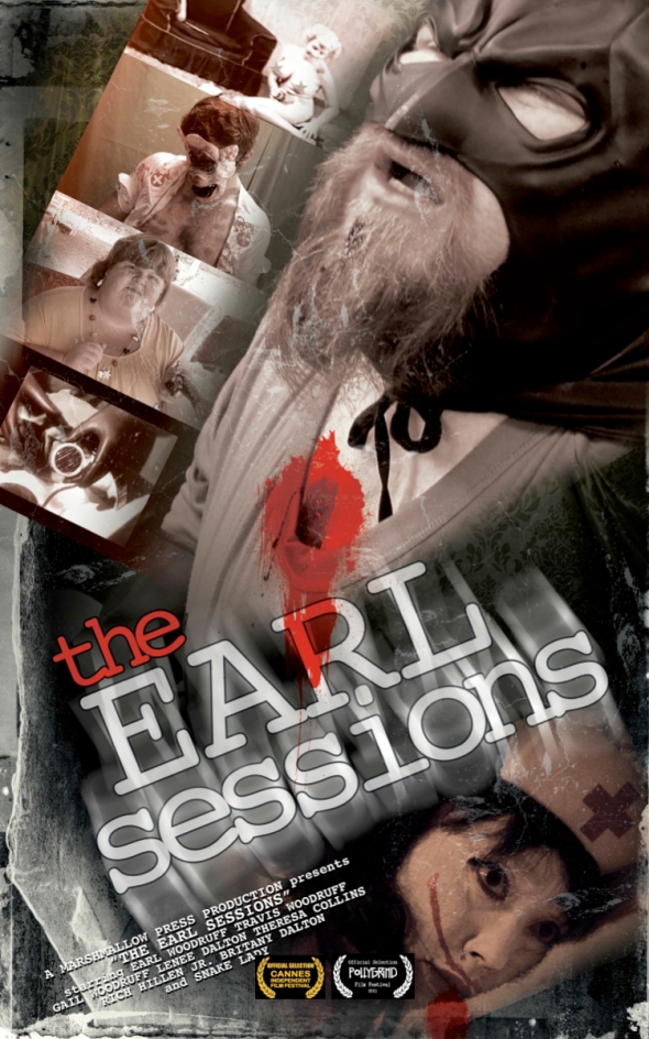 the earl sessions poster with laurels